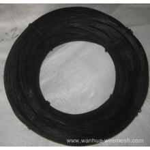 Building twisted annealed binding wire