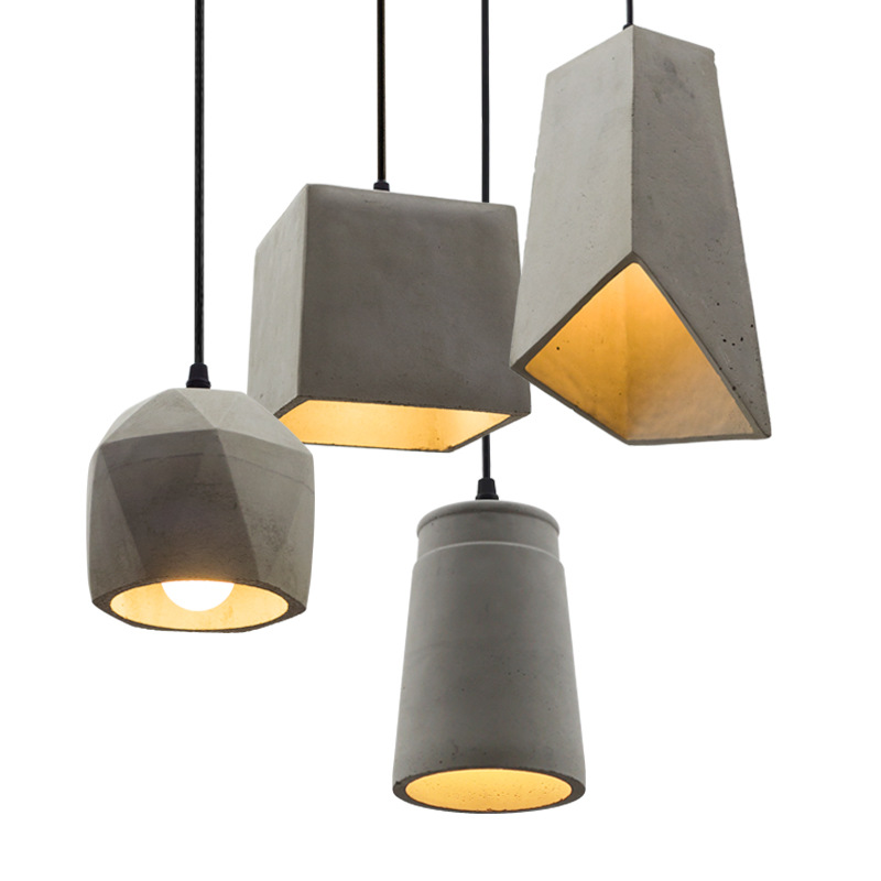 Decorative Best Concrete Pendant Lamps