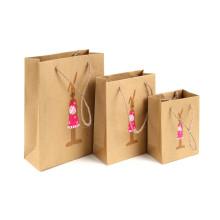 Farbdruck-Kraftpapier-Taschen-Gewohnheits-Geschenk-Papiertüte-Drucken