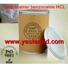 Benzocaine-roher Pulver / 4-Aminobenzoesäure-Ethylester CAS 94-09-7