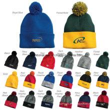 30 colores sombreros de punto personalizados para regalos promocionales