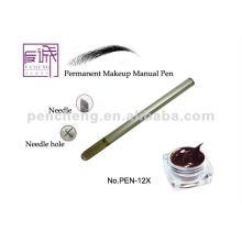Permanente Manual tatuaje ceja maquillaje pluma con cuchilla