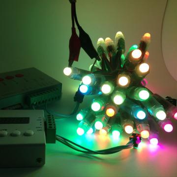 Ws2811 Ws2812b Luz de tira flexible del color del RGB de Digitaces flexible