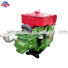 1115TD 20hp démarrage électrique refroidi à l'eau de nouveaux produits moteur diesel monocylindre