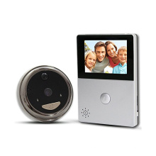 WiFi видео дверной глазок дверной звонок про телефон с HD камера движения pir для умного дома безопасности