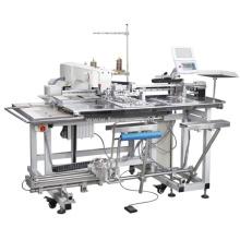 Máquina de costura de fixação automática de bolso