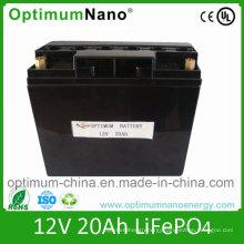 12V 20ah LiFePO4 Battery for Solar Street Light