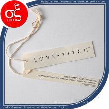 Fashion Grid Paper Tag/Hang Tag Designs with Cotton Rope