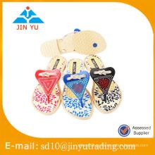 China precio de fábrica último estilo hermoso sandalia sexy de la señora