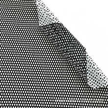 Black White Custom Perforated Window Film