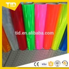 Folha reflexiva de PVC rosa