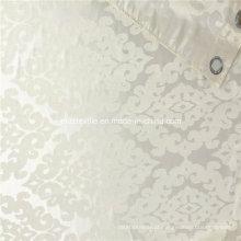 Poliéster tecido de cortina Jacquard pesado