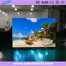 Signe extérieur polychrome de module de panneau d'écran d'affichage à LED De location de moulage en matrice de P4 HD / intérieur pour la représentation d'étape