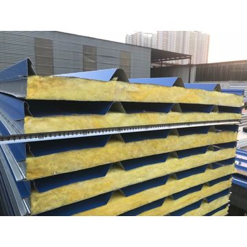 Kernmaterial Glaswolle Sandwich Panel