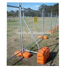 Cheap malla de acoplamiento de malla galvanizado panel de valla temporal portátil