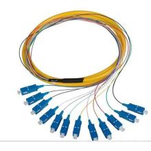 Sm SC / PC 0.9mm 1.5m 12 Cores Bandles Pigtail