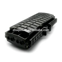 Fermeture horizontale de l'épissure en fibre optique horizontale avec 4 entrées / sorties, fermeture de joint à fibre optique extérieure de 96 conducteurs