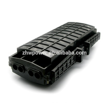 Aerial horizontal fiber optic splice closure with 4 inlets/outlets , 96 cores outdoor fiber optic joint closure