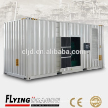 Japanese container generator 1mw,big capacity silent generator electrical 1000kw price