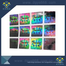 Kreis Form Laser Label in hoher Qualität