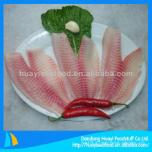 Tilapia au filet de poisson congelé