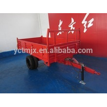 Tractor trailer two axle four wheel trailer 7CX-5