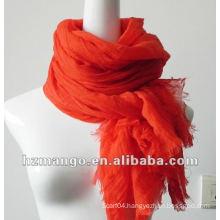 2016 latest fashion spring solid color 100% viscose scarves