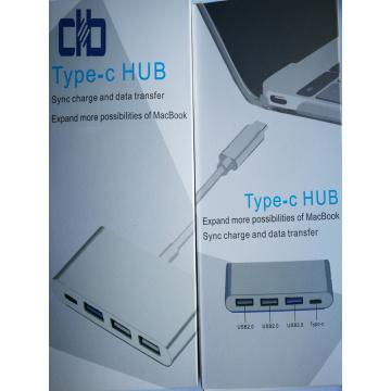 USB3.1 Type C Hub pour MacBook