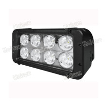 Unisun 9-70V 80watt 2-Row CREE LED Car Work Light Bar