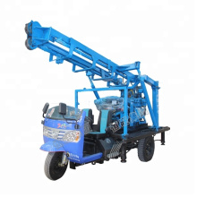 Salable ,easy -handing mobile drill well rig , hydraulic 200m deep water well drilling