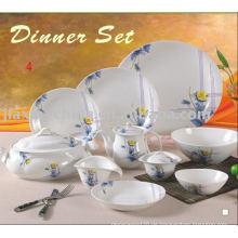 47PCS DINNER SET (ABENDESSEN SET MIT DEKORATION KERAMIKABENDESSEN SET)