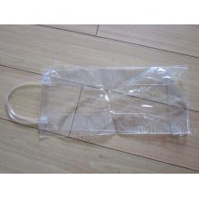 Transparet ПВХ Tote Винный мешок с трубными ручками (hbpv-63)