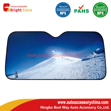 UV Cut Car Sun Shade - جبل الثلج