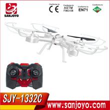 Avión 3D rollover rc con cámara en modo Headless rc racing drone one key para devolver el quadcopter rc SKY PHANTOM 1332 SJY-1332C