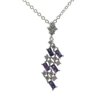 Silver fashion jewelry pendant