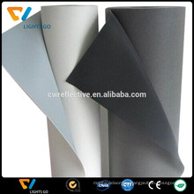 0.8mm glow in the dark reflective synthetic leather for shoes