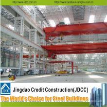 Taller de fábrica de acero estructural de bajo costo