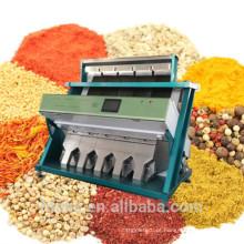 Colorized máquina de limpeza Almond damasco Color Sorter Machine