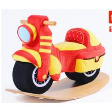 Fuente de la fábrica de madera Rocking Toy Rocking Motorcycle