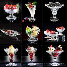 Haonai glassware Ice Cream Bowls, Ice Cream Cup.