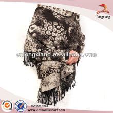 Cashmere Quality Silk Brosse Pashmina Shawl