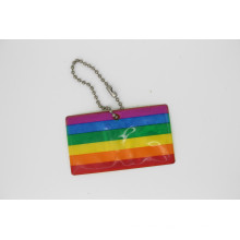Reflective Safety Key Chain or Hanger En13356 Approved