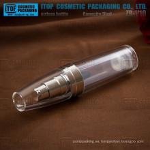 ZB-V10 10ml buena calidad 1er grado prima bala forma mini acrílico cosméticos botellas sin aire