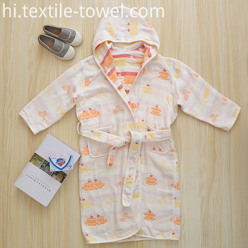 Cute Baby Bathrobe