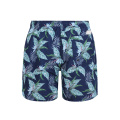 Blue Custom Sublimation Badehose Männliche Strandshorts
