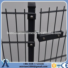 Heavy Gauge powder coating twin wire 656 fence