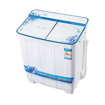 Blue Glass Cover 3.8KG Twin Tub Mesin Cuci