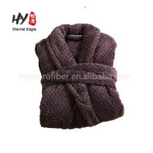 New design various colors hotel shawl collar women's bath robe