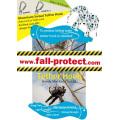 Proteção contra quentes Carabiner Lock com cordão de ferramenta para segurança de bobina