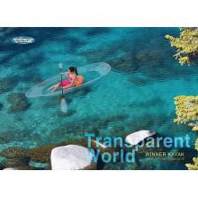 100% Transparent Touring Kayak